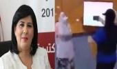 فيديو..الاعتداء على عبير موسي داخل البرلمان التونسي للمرة الثانية