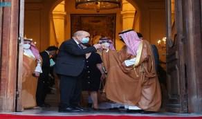 تفاصيل لقاء وزير الخارجية مع نظيره الفرنسي