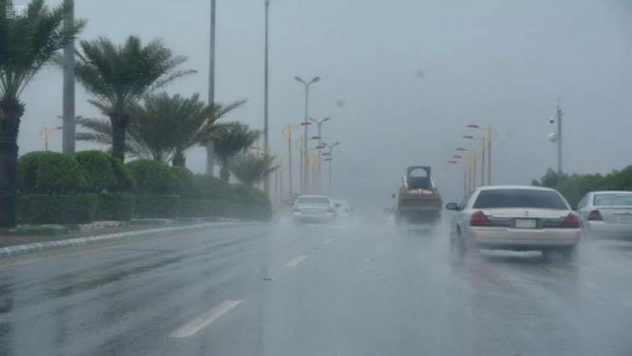 الأرصاد: هطول أمطار غزيرة مصحوبة برياح سطحية وزخات من البرد على عدة مناطق