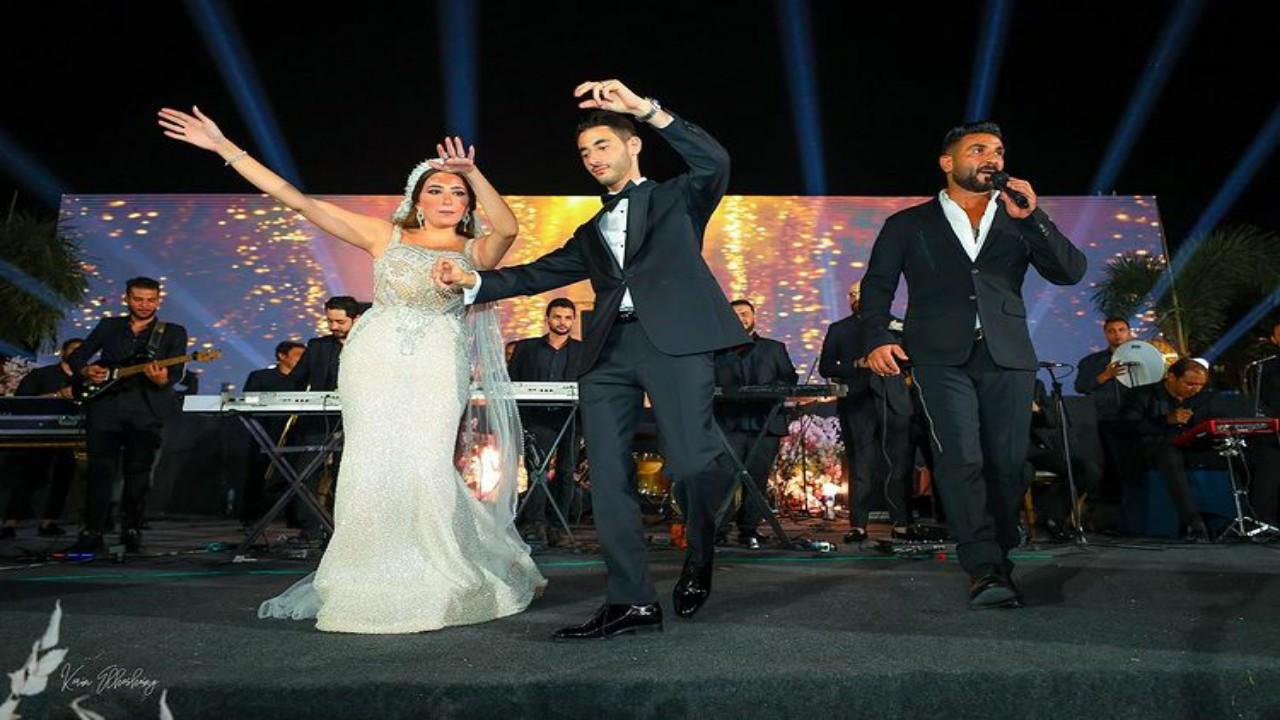 """عروس تترك حفل زفافها وتدخل في نوبة بكاء بسبب أغنية """"بحبك يا صاحبي"""""""