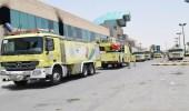 بالصور.. اندلاع حريق في مول شهير بالرياض
