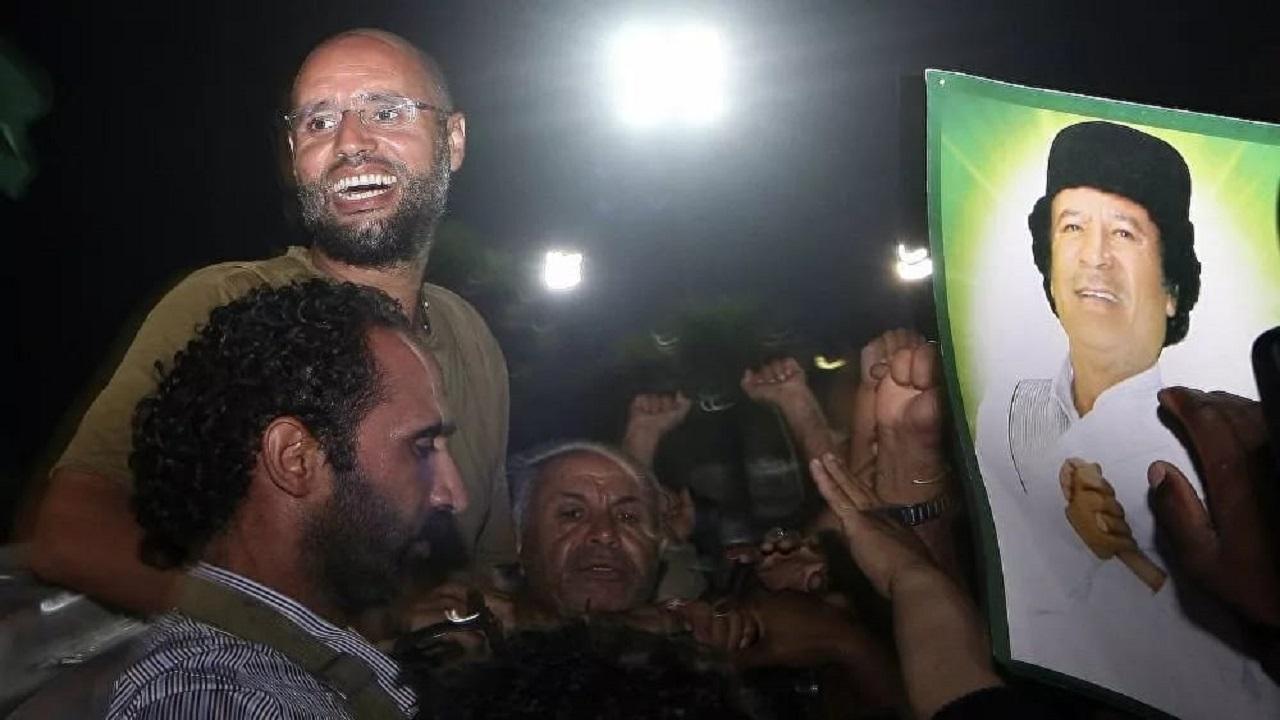 سيف الإسلام القذافي: تم اعتقالي في كهف .. وأسعى للعودة السياسية