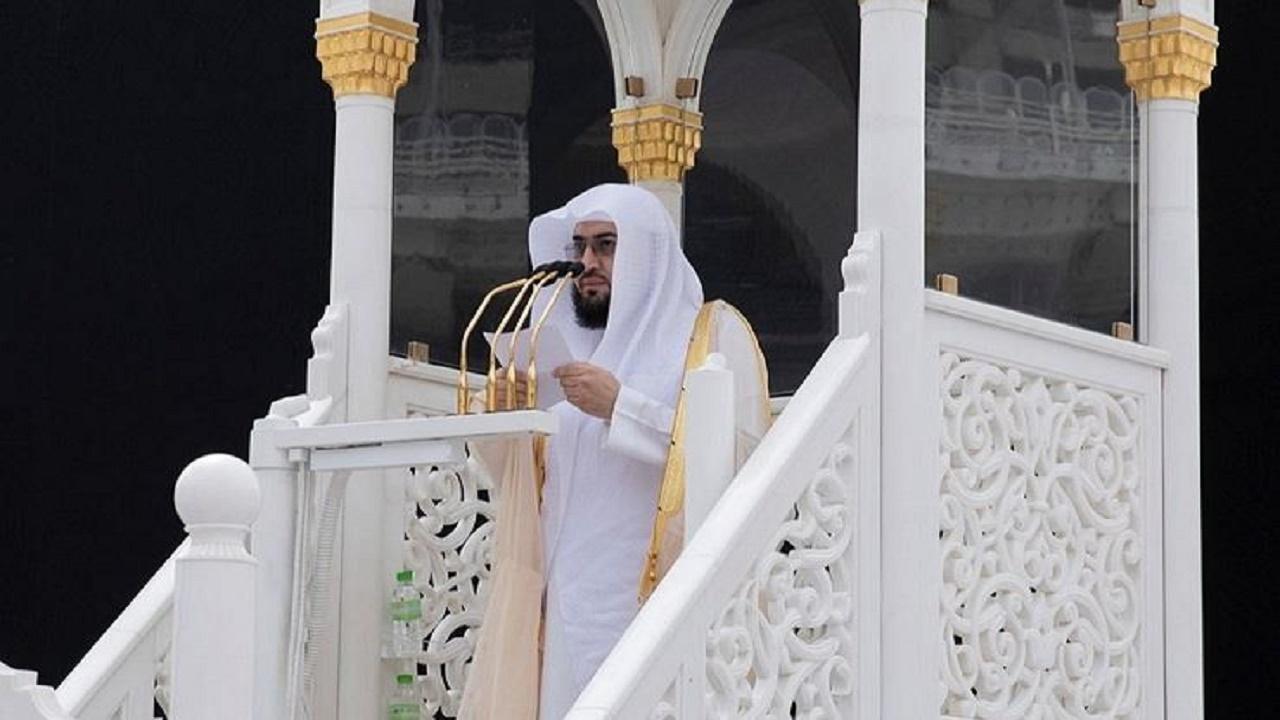 تكليف الشيخ بندر بن عبدالعزيز خطيبًا لخطبة عرفة