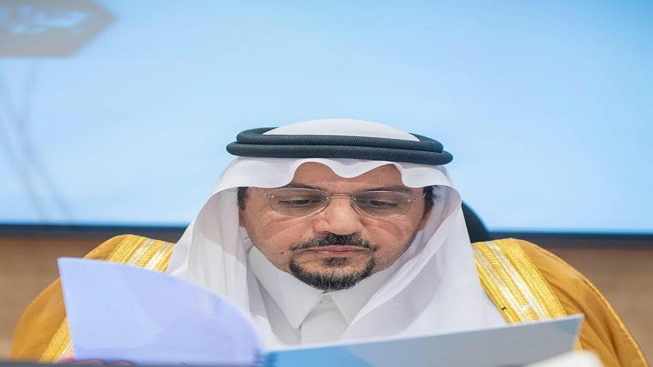 أمير القصيم يوجه الجهات الحكومية بإستمرار العمل خلال إجازة عيد الأضحى