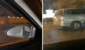 بالفيديو.. مواطن يتعرض للاعتداء والتهديد أثناء قيادته السيارة