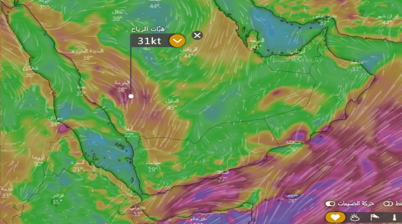 الحصيني: استمرار هطول الأمطار على عدة مناطق حتى الإثنين المقبل
