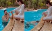 فيديو..الراقصة صافيناز تعلن خطوبتها