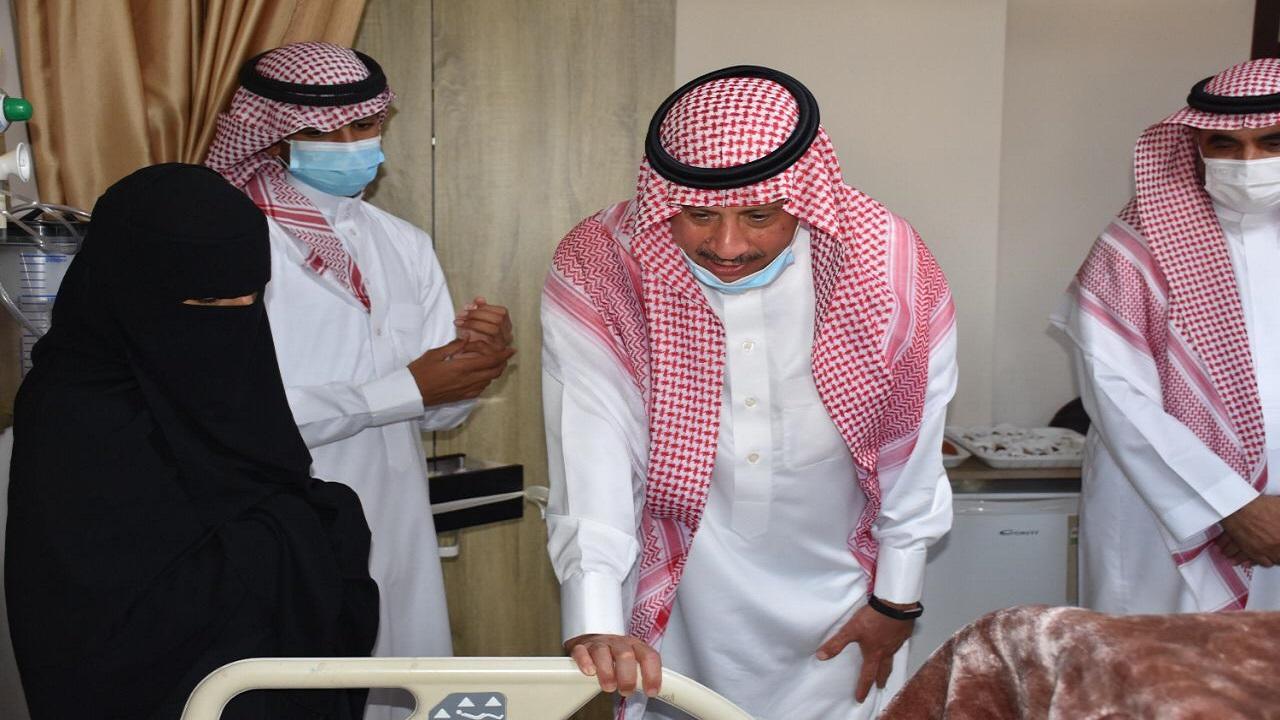 سفير المملكة لدى الاردن يزور المواطن السعودي عبدالرحمن الحمدي في المستشفى