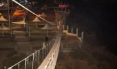 """صور..جانب من تجهيزات مشروع """"الجسر المعلق"""" في منتزه رغدان بالباحة"""
