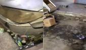بالفيديو.. أوساخ وقمامة وتلوث بصري في ظهرة لبن بالرياض