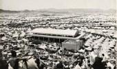 صورة لمشعر عرفات من أعلى جبل الرحمة في الخمسينيات الميلادية