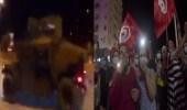 فيديو..الجيش التونسي يطوق مبنى البرلمان ويغلق الطرق المؤدية للمطار