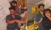 فيديو..وصلة رقص لبدور البراهيم مع شقيقها