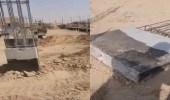 فيديو.. مواطن يوثق عبث مقاول في أساسات البناء لمجمع كبير في الرياض