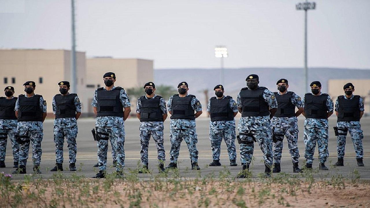 الأمير عبدالعزيز بن سعود بن نايف يدشن المدينة الأمنية للقوات الخاصة لأمن الحج والعمرة في الجموم بمكة المكرمة