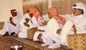 جلسة أيام العيد في حائل قبل 40 عام