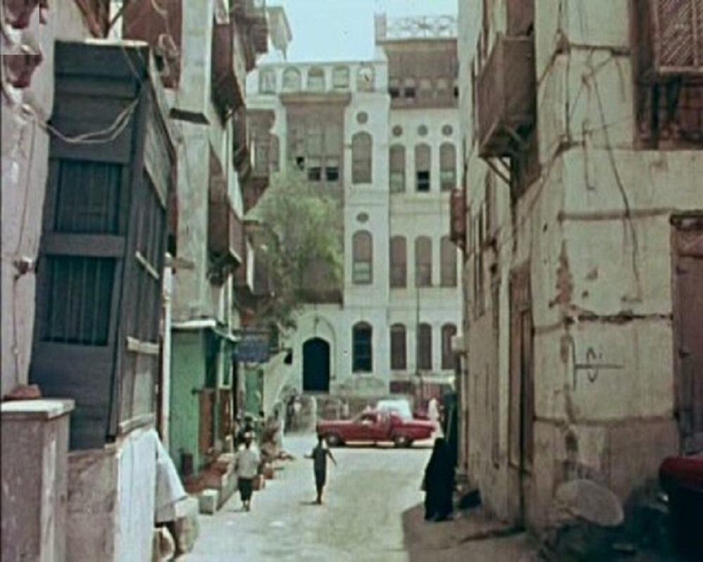 منظر لشارع جدة في السبعينيات