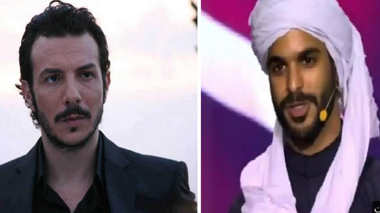 بالفيديو .. باسل خياط يسخر من بطل مسلسل رشاش: التمثيل في الشرق وأنت في الغرب