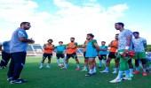 بالصور.. المنتخب الوطني الأولمبي يختتم تحضيراته استعدادا لمباراة البرازيل