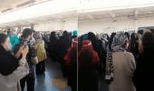 """بالفيديو.. إيرانيات يهتفن ضد خامنئي: """"الموت للنظام"""""""