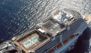 """بالفيديو.. أبرز المعلومات عن الكروز السياحية """"بيليسيما"""" التي انطلقت من ميناء جدة"""