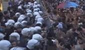 بالفيديو .. احتجاجات في تركيا بعد انسحابها من اتفاقية منع العنف ضد المرأة