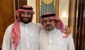 الأمير عبدالرحمن بن مساعد يُغرد بأبيات شعرية عن ولي العهد