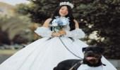 """تقديم بلاغًا للنائب العام ضد """"بلوجر"""" بسبب زواجها من كلب"""