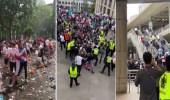 "بالفيديو .. قمامة وشغب وكر وفر بشوارع لندن في نهائي ""يورو 2020"""