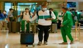 بالصور .. لاعبو الأخضر يصلون إلى طوكيو