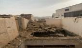 انهيار جدار حجري بقرية الطرفين في الباحة يسفر عن 3 إصابات خطيرة