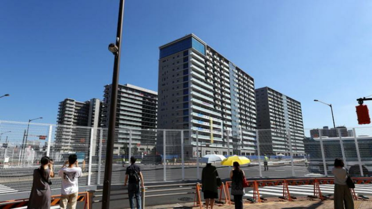 القرية الأولمبية في طوكيو تسجلإصابة جديدة بفيروس كورونا