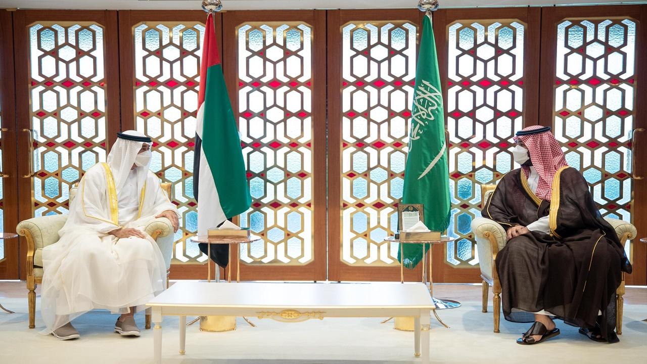 ولي عهد أبوظبي: الشراكة بين المملكة والإمارات قوية ومستمرة