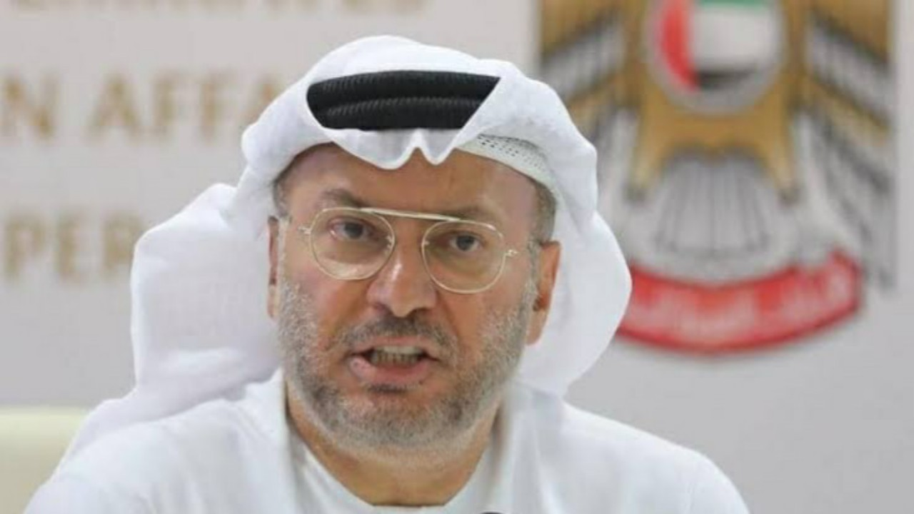 قرقاش:زيارة محمد بن زايد للرياض تجسيد للعلاقات بين المملكة والإمارات