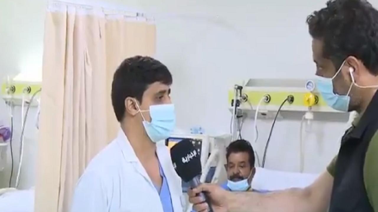 بالفيديو.. الحاج الباكستاني يخضع لعملية قلب مفتوح بعد انتهائه من مناسك الحج