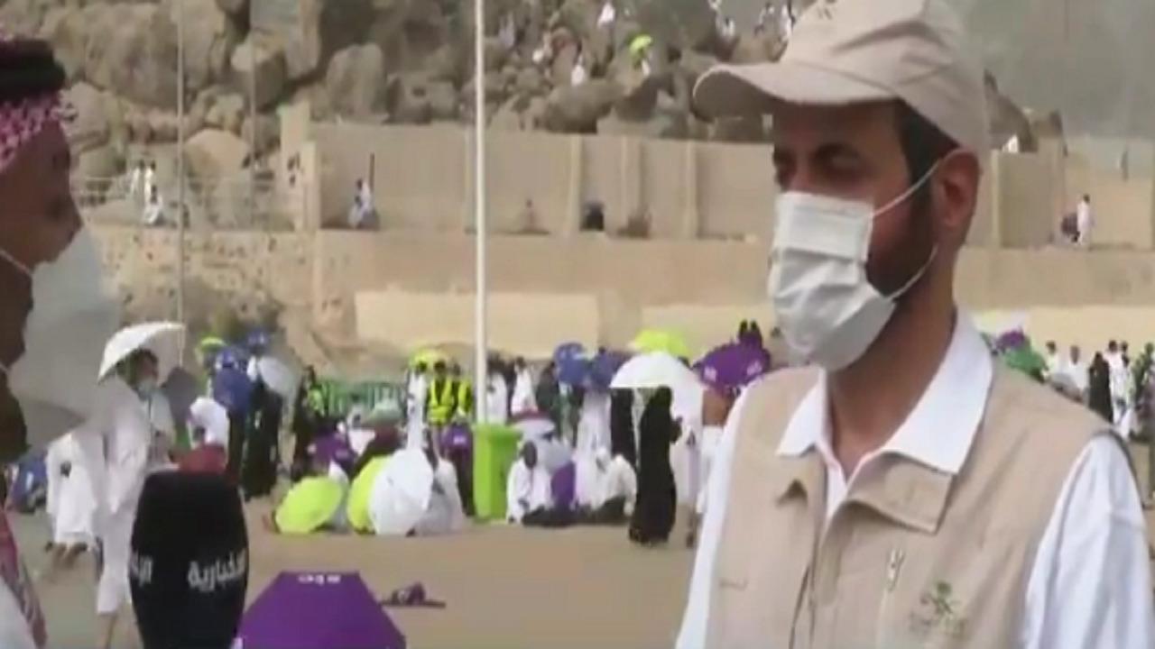 بالفيديو .. وزير الصحة : الوضع مطمئن وندعو الحجاج بتجنب الجلوس في الشمس