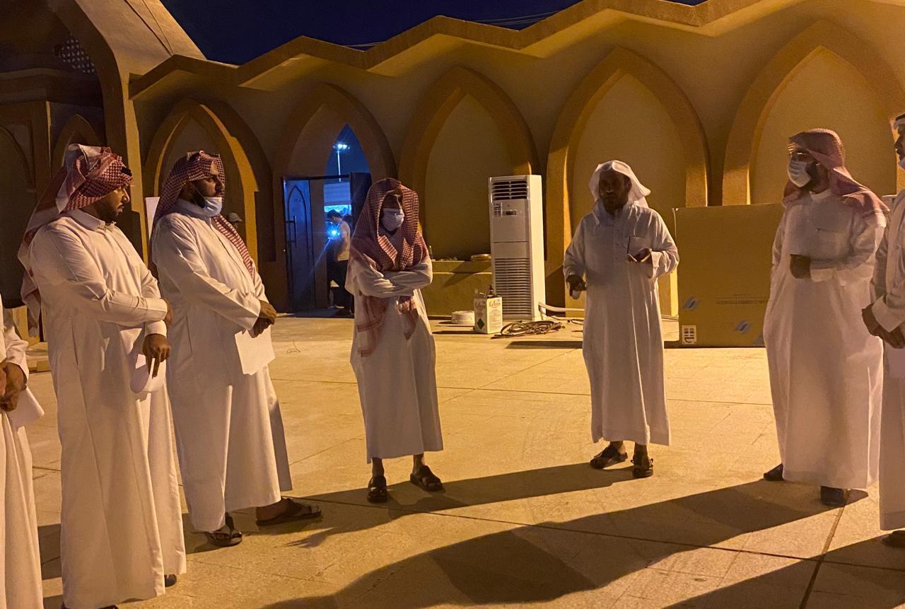 العنزي يتفقد مصلى العيد الرئيسي والجوامع والمساجد بعرعر