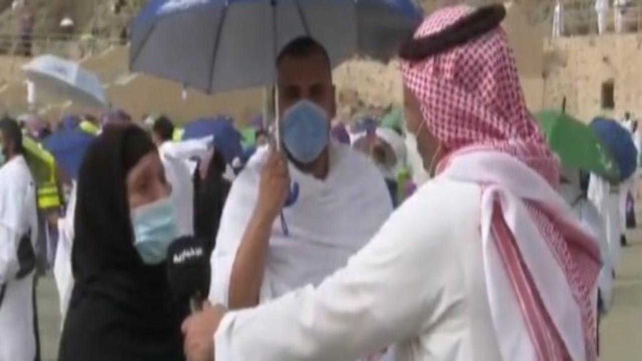 """حاجة مصرية تصف مشاعرها بعد انتظارها 30 عاما لأداءالحج""""فيديو"""""""
