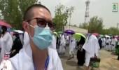 بالفيديو .. مقيم من الصين يحقق حلمه بأداء الحج بعد سنوات طويلة من الانتظار