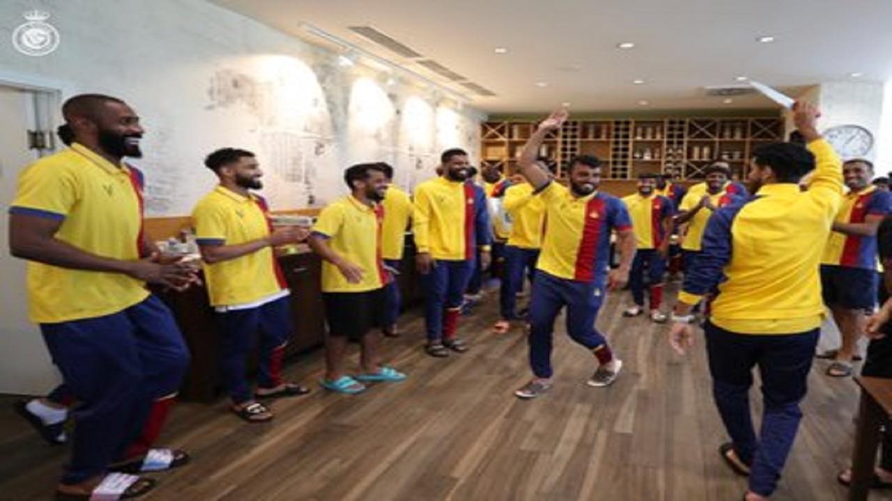 بالفيديو.. لاعبو النصر يحتفلون بعيد الأضحى بالرقص والبخور