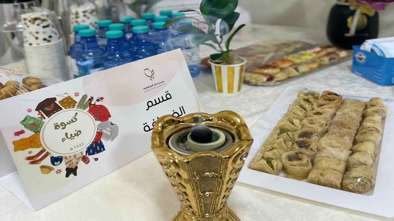 """""""ضياء الخير"""" تنفذ فعاليّة توزيع كسوة العيد للأيتام والأسر المستفيدة"""