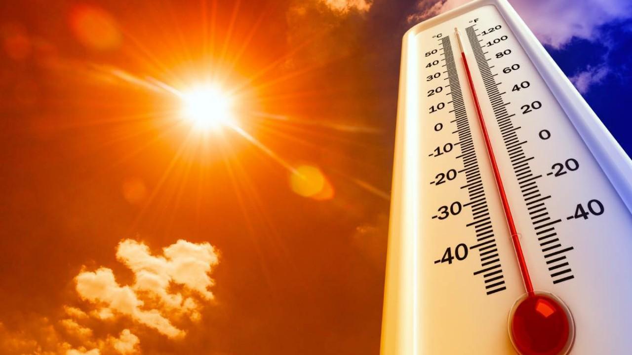 النعيرية أعلى مدن المملكة حرارة اليوم