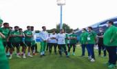 الأخضر الأولمبي يختتم تدريباته لمواجهة ساحل العاج غداً