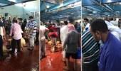 """بالفيديو .. فوضى في أحد مسالخ الكويت ومواطن يتسأل :""""أين الجهات المعنية"""""""