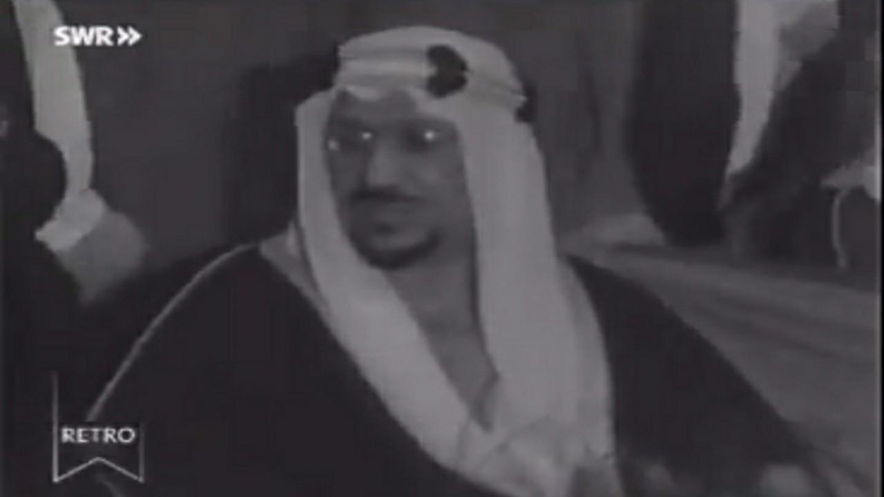 بالفيديو.. لحظة وصول الملك سعود إلى بادن في ألمانيا