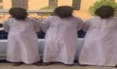 """القبض على 4 مواطنين تعمدوا تخويف بعض مرتادي الأماكن العامة في الرياض """"فيديو"""""""