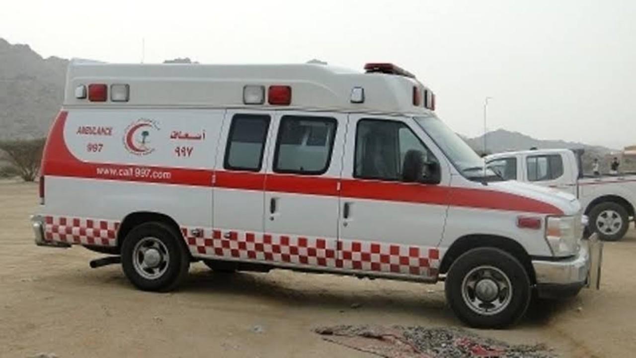 إصابة 11 شخصًا في حادثين مروريين بالرياض