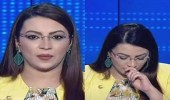 بالفيديو.. مذيعة تصاب بنوبة سعال على الهواء بسبب كورونا