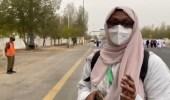 بالفيديو.. حاجة سودانية: هذه حجتي الأولى ومشاعري فوق الوصف