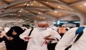 بالصور.. مبادرة توديع ضيوف الرحمن بمحطة قطار الحرمين